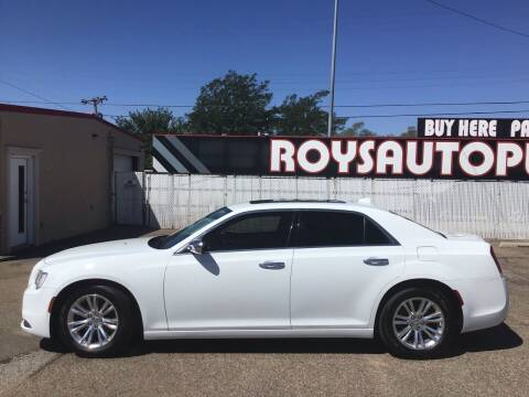 2017 Chrysler 300 for sale at Roy's Auto Plaza 2 in Amarillo TX