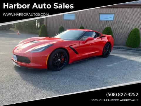 2015 Chevrolet Corvette for sale at Harbor Auto Sales in Hyannis MA