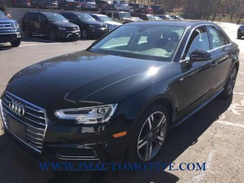 2017 Audi A4 for sale at J & M Automotive in Naugatuck CT