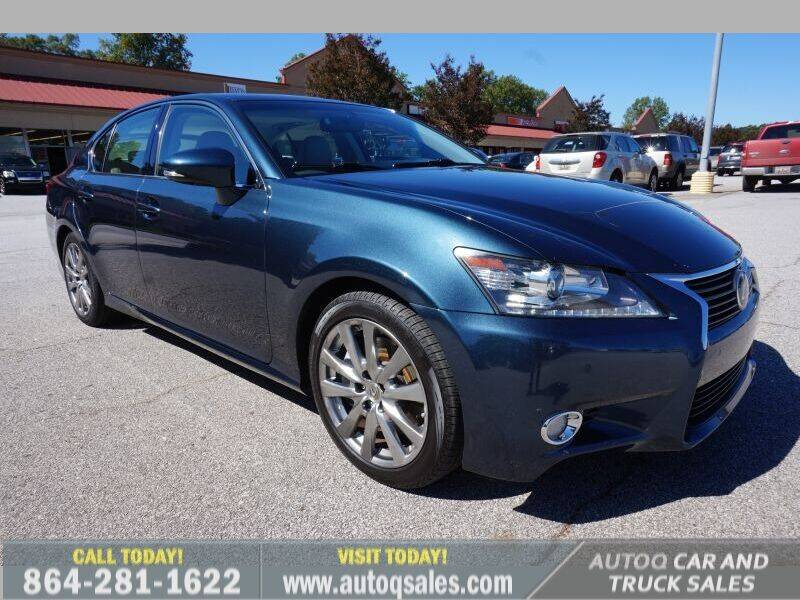 2015 Lexus GS 350 for sale at Auto Q Car and Truck Sales in Mauldin SC