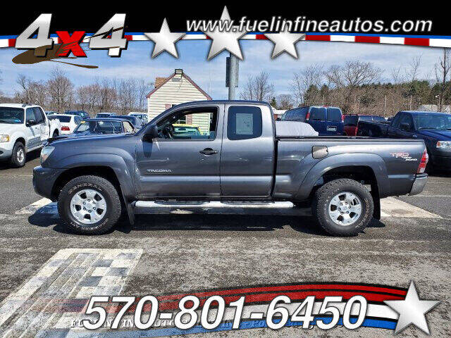 2010 Toyota Tacoma for sale at FUELIN FINE AUTO SALES INC in Saylorsburg PA