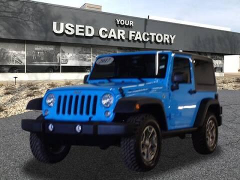 2017 Jeep Wrangler for sale at JOELSCARZ.COM in Flushing MI