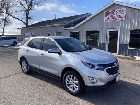 2018 Chevrolet Equinox for sale at B & B Auto Sales in Brookings SD