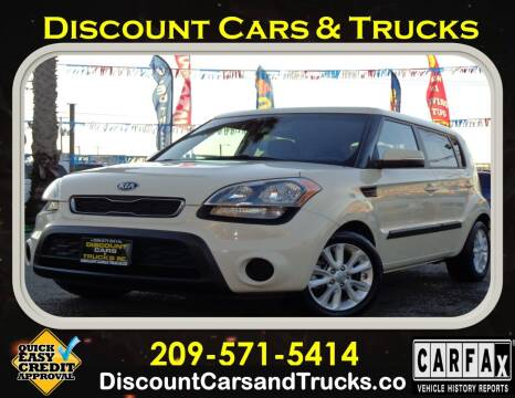 2013 Kia Soul for sale at Discount Cars & Trucks in Modesto CA