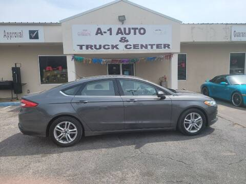 2018 Ford Fusion for sale at A-1 AUTO AND TRUCK CENTER in Memphis TN
