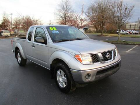 2008 Nissan Frontier for sale at Euro Asian Cars in Knoxville TN