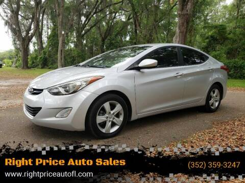 2013 Hyundai Elantra for sale at Right Price Auto Sales-Gainesville in Gainesville FL