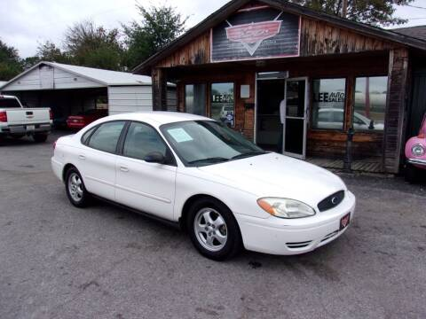 2007 Ford Taurus for sale at LEE AUTO SALES in McAlester OK