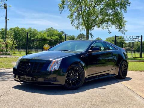 2013 Cadillac CTS for sale at Texas Auto Corporation in Houston TX