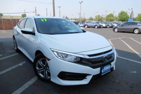 2017 Honda Civic for sale at Choice Auto & Truck in Sacramento CA