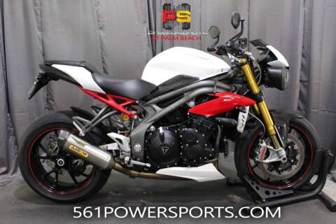 2016 Triumph Speed Triple R ABS for sale at Powersports of Palm Beach in Hollywood FL
