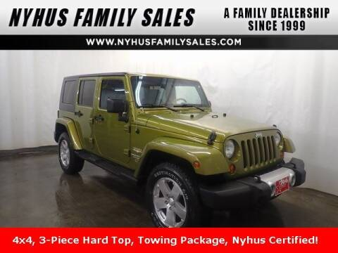 2008 Jeep Wrangler Unlimited for sale at Nyhus Family Sales in Perham MN