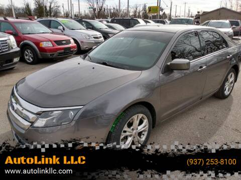 2012 Ford Fusion for sale at AutoLink LLC in Dayton OH