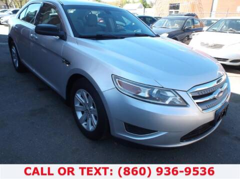 2011 Ford Taurus for sale at Lee Motor Sales Inc. in Hartford CT