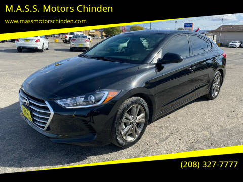 2018 Hyundai Elantra for sale at M.A.S.S. Motors Chinden in Garden City ID
