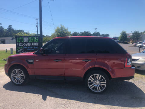 2010 Land Rover Range Rover Sport for sale at AutoBuyCenter.com in Summerville SC