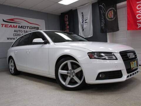 2010 Audi A4 for sale at TEAM MOTORS LLC in East Dundee IL
