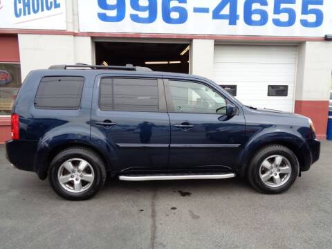 2010 Honda Pilot for sale at Best Choice Auto Sales Inc in New Bedford MA