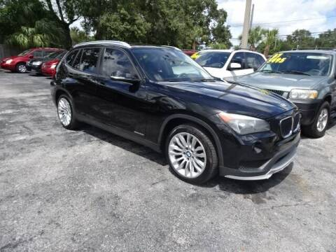2015 BMW X1 for sale at DONNY MILLS AUTO SALES in Largo FL