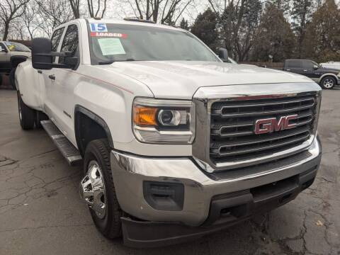 2015 GMC Sierra 3500HD for sale at GREAT DEALS ON WHEELS in Michigan City IN