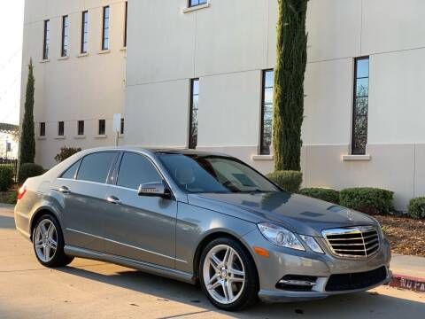 2012 Mercedes-Benz E-Class for sale at Auto King in Roseville CA