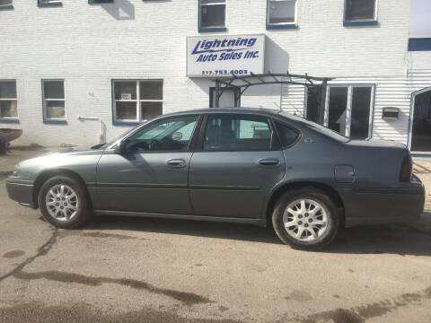 2004 Chevrolet Impala for sale at Lightning Auto Sales in Springfield IL