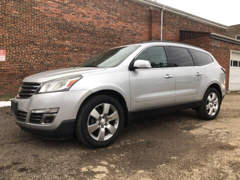2013 Chevrolet Traverse for sale at Jim's Hometown Auto Sales LLC in Byesville OH