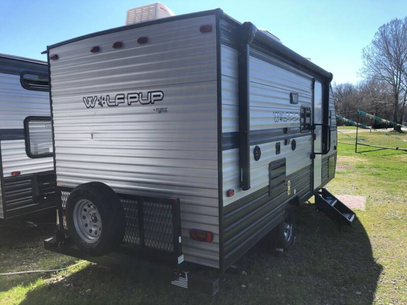 2019 FOR RENT!!!  Forest River Wolf Pup 16BHS for sale at S & R RV Sales & Rentals, LLC in Marshall TX