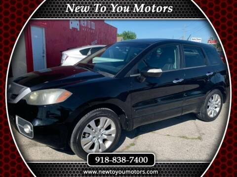 2010 Acura RDX for sale at New To You Motors in Tulsa OK