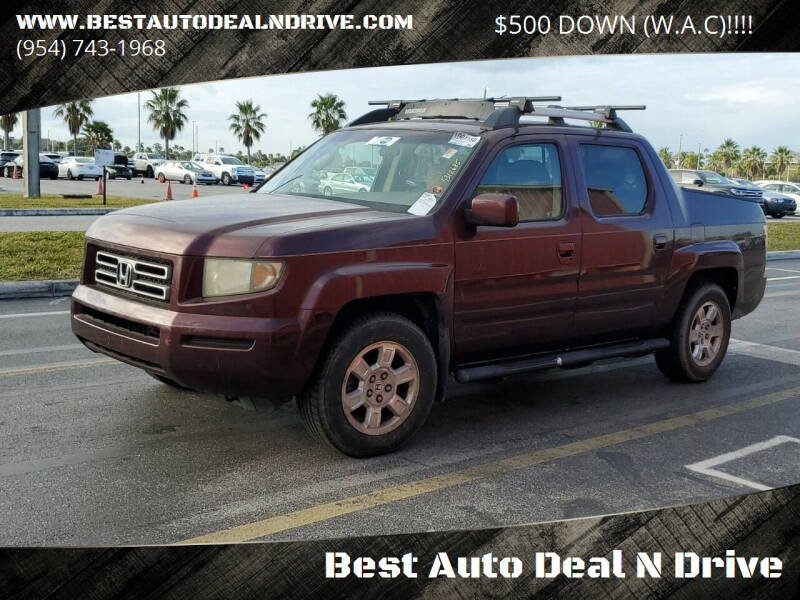 2008 Honda Ridgeline for sale at Best Auto Deal N Drive in Hollywood FL