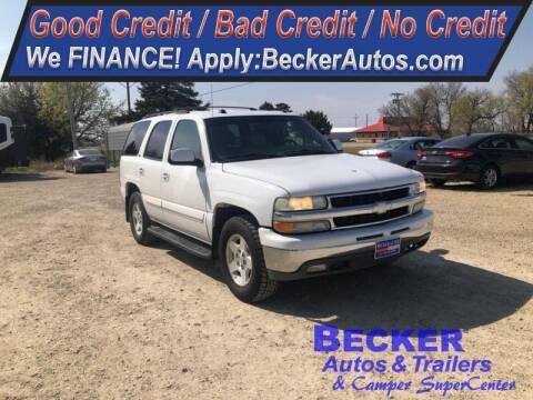2004 Chevrolet Tahoe for sale at Becker Autos & Trailers in Beloit KS