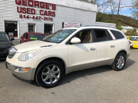 2008 Buick Enclave for sale at George's Used Cars Inc in Orbisonia PA