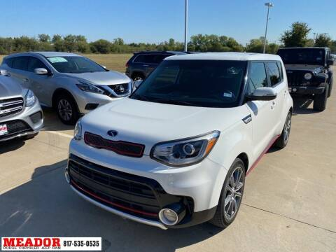 2017 Kia Soul for sale at Meador Dodge Chrysler Jeep RAM in Fort Worth TX