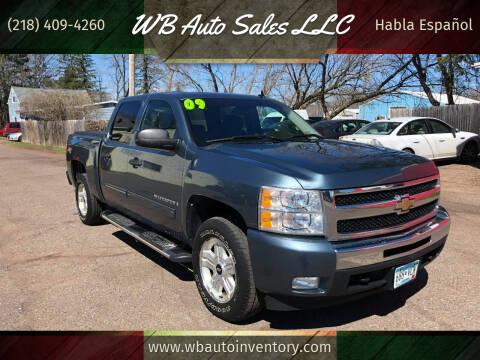 2009 Chevrolet Silverado 1500 for sale at WB Auto Sales LLC in Barnum MN
