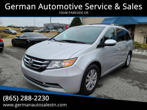 2014 Honda Odyssey for sale at German Automotive Service & Sales in Knoxville TN