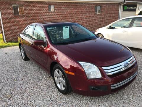 2007 Ford Fusion for sale at ADKINS PRE OWNED CARS LLC in Kenova WV
