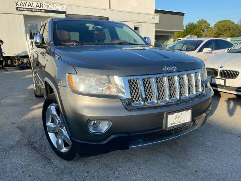 2011 Jeep Grand Cherokee for sale at KAYALAR MOTORS in Houston TX