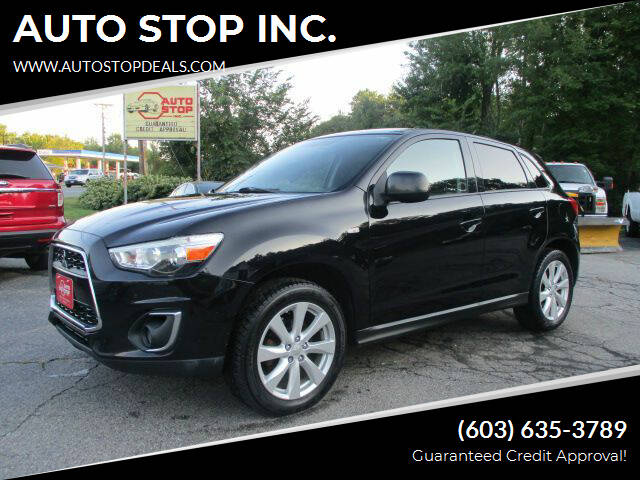 2013 Mitsubishi Outlander Sport for sale at AUTO STOP INC. in Pelham NH