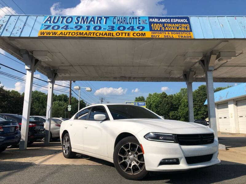 2015 Dodge Charger for sale at Auto Smart Charlotte in Charlotte NC