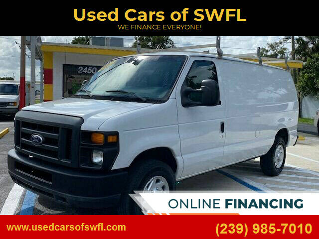 2013 Ford E-Series Cargo for sale at Used Cars of SWFL in Fort Myers FL