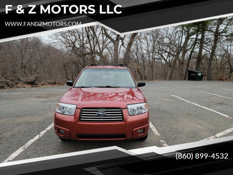 2006 Subaru Forester for sale at F & Z MOTORS LLC in Waterbury CT