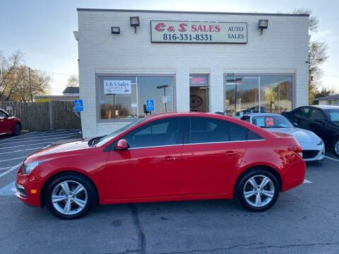 2015 Chevrolet Cruze for sale at C & S SALES in Belton MO