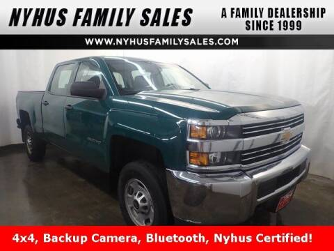 2018 Chevrolet Silverado 2500HD for sale at Nyhus Family Sales in Perham MN