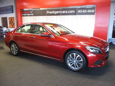 2016 Mercedes-Benz C-Class for sale at Prestige Motorcars in Warwick RI