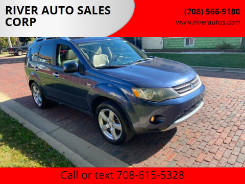 2007 Mitsubishi Outlander for sale at RIVER AUTO SALES CORP in Maywood IL