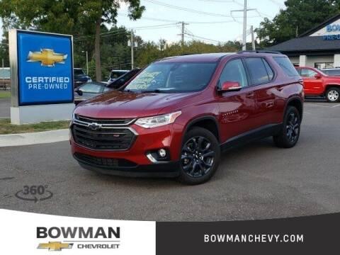 2020 Chevrolet Traverse for sale at Bowman Auto Center in Clarkston MI