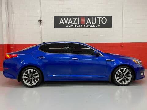 2014 Kia Optima for sale at AVAZI AUTO GROUP LLC in Gaithersburg MD