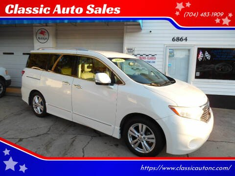 2012 Nissan Quest for sale at Classic Auto Sales in Maiden NC