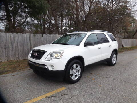 2012 GMC Acadia for sale at Wayland Automotive in Wayland MA