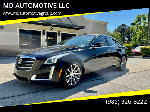 2016 Cadillac CTS for sale at MD AUTOMOTIVE LLC in Slidell LA